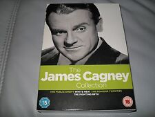 THE JAMES CAGNEY COLLECTION - 4 films dvd boxset WHITE HEAT, PUBLIC ENEMY etc