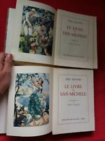 Lot 2 livres Axel MUNTHE/LE LIVRE DE SAN MICHELE/N 1382/illus LOUIS CLAUS/1952