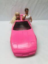 Barbie Corvette Pink by Gay Toys VTG Western Stampin Barbie & Secret Hearts Ken