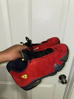 Nike Air Jordan 14 XIV Ferrari Red Size 8.5. 654459-670