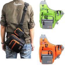 Usa Multi-Purpose Waterproof Canvas Fishing Reel Lure Tackle Bag 32*39*12Cm