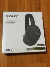 SONY WH-CH710N BLACK NOISE CANCELLING WIRELESS HEADPHONES BRAND NEW
