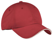 Port Authority Hook Loop Closure Moisture Wicks Low Profile Baseball Cap. C838