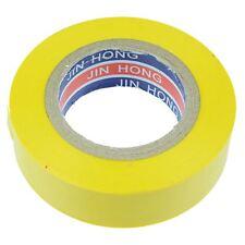 19mm x 20m Yellow PVC Insulation Electrical Tape Flame Retardant