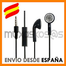 AURICULARES CON MICROFONO NPARA APPLE IPHONE 4 4S S 3 3G 3GS IPAD 2 3 IPOD MICRO