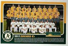 2014 Oakland A's Athletics team photo SGA Baseball Cheer Card Poster Sonny Gray