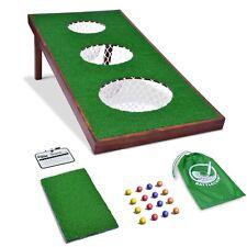 GoSports BattleChip PRO Backyard Golf Cornhole Chipping Game Training Aid