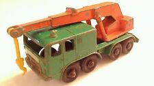 Rare Vintage Matchbox Lesney Eight Wheel Crane 30 - Cool!  60's