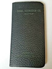 1919 Pocket Calendar Booklet UNUSED Many Knowledge of the era type pages