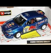 BURAGO 1 18 FORD FOCUS RALLY WRC Red Bull - Made In Italy