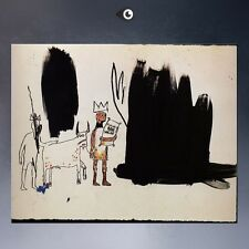 "Jean Michel Basquiat ""Dwellers in the marshes"" HD print on canvas picture 32x24"""