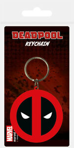 Deadpool (Symbol) Rubber Keychain *OFFICIAL PRODUCT* NEW, SEALED, FAST DISPATCH