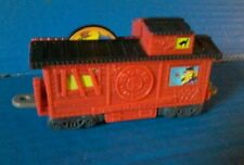 Loose WENDYS KIDS MEAL LIONEL EERIE EXPRESS TRAIN - RED CABOOSE Railroad Car