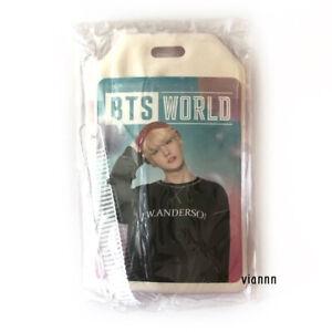 BTS The World Weverse Suga Photocard + Luggage Tag / nct exo taehyung jungkook