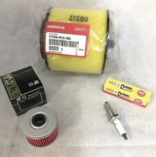 Honda TRX300 FourTrax 300 Air - Oil Filter - Spark Plug Tune Up Kit 1988-2000