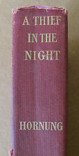 A THIEF IN THE NIGHT by E.W. Hornung