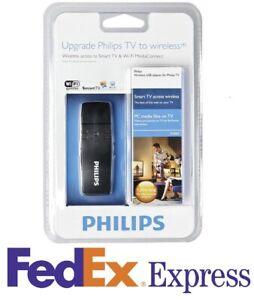 New Philips PTA128 Wireless USB Wi-Fi WiFi Smart TV Adapter Dongle