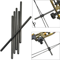 1pc Archery Carbon Compound Bow String Suppressor Rod Stabilizer Silencer hunt