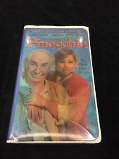The Adventures of Pinocchio (VHS-Clamshell) 1996 family film stars Martin Landau