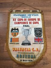 Pennant: 1980 ECWC Final Arsenal V Valencia Number 4