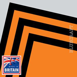 10 sheet pack x A4 Halloween Black & Orange Craft Card 240gsm