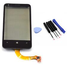 Touch Screen Glass Lens Digitizer + Frame For Nokia Lumia 620 Rev 3 Rev 1.3 + T