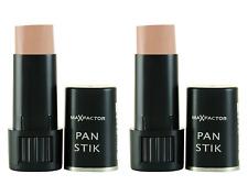 Max Factor Pan Stik Creamy Foundation Makeup, #56 Medium (2 Pack)