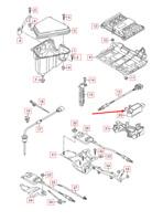 AUDI A5 8T DPF Exhaust Pressure Sensor 059906051G 3.0 TDI NEW GENUINE