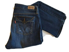 Levis 515 Boot Cut Stretch Denim Jeans Flap Pockets 6 M