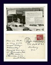 IOWA OSKALOOSA CANARY COTTAGE CAFE 13 JUNE 1957 TO REGGIE GREENHOLT, HICKORY, NC