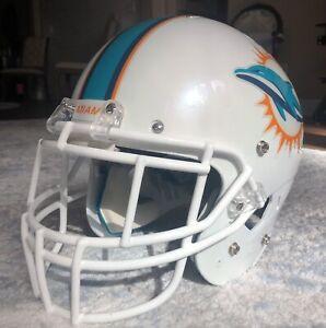 Miami Dolphins Game Used - Team Issue Football Helmet