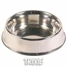 Trixie Comedero de Acero Inoxidable 0,9 L/17cm