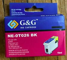 Epson Stylus Photo 810/820/830/830u/925/935 NE-07026 Bk Ink Cartridge-NE-0T026