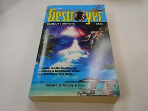 The Destroyer #134: Bloody Tourists by Warren Murphy (2004,USA) 1st Edition