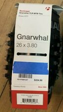 "ONE Bontrager Gnarwhal STUDDED Fat Bike Tire 26x3.8""Tubeless 120 TPI"