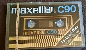 1 x MAXELL  UDXL II I 90 MINUTE  BLANK CASSETTE TAPE