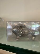 Pottery Barn Fish Salt And Pepper Shakers New