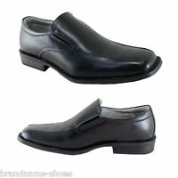 MENS JULIUS MARLOW JM33 JM GIBSON BLACK FORMAL CASUAL SLIP ON WORK DRESS SHOES