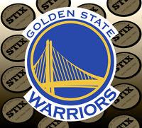 Golden State Warriors Logo NBA Die Cut Vinyl Sticker Car Window Bumper Decal