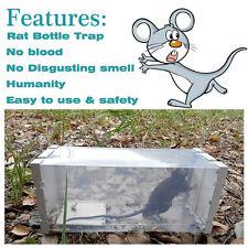 Reusable Rat Trap Mouse Small Rodent Humane Catch Pest Vermin Control Bait Catch
