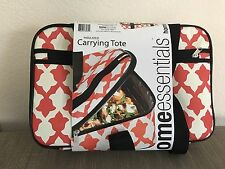 New Home Essentials Carrying Insulated Rectangle Casserole Portable Tote Bag 16""