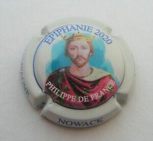 Capsule de champagne NOWACK n°53n Epiphanie 2020 Philippe de France