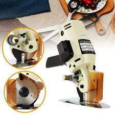 Electric Cloth Cutter Fabric Leather Cutting Machine 100mm Rotary Blade Scissors