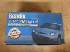 NEW BENDIX TITANIUMETALLIC FRONT BRAKE PADS MKD310 / D310 FITS VEHICLES LISTED