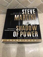 Paul Madriani, Shadow of Power by Steve Martini (2011, Audio CD, Unabridged)
