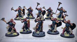 Warhammer AoS - Stormcast Eternals Sequitors, painted (Astral Templars)