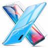 "Cover Custodia Gel Silicone Trasparente Per Samsung Galaxy A20 (4G) 6.4"""