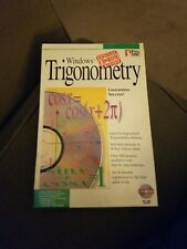 Pro One Software Multimedia Trigonometry Interactive Instruction CD 1995 USA