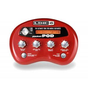 Line 6 Pocket Pod - multi effets guitare