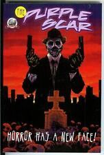 THE PURPLE SCAR by Lovisi & others Airship27 new crime horror pulp hero trade pb